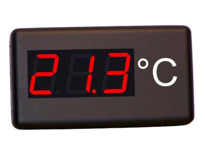 Panel termómetro industrial