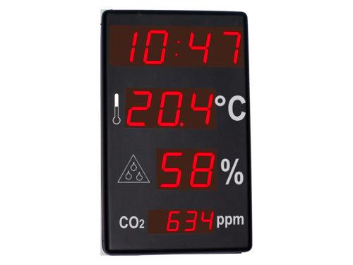 Afficheurs temperature humidité