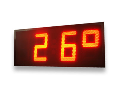 Calendario, cronómetro termómetro