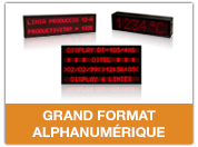 Grand format alphanumérique