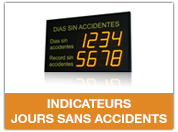 DINOS jours sans accidents