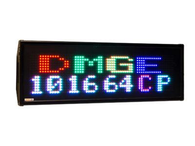 Afficheur matriciel RGB DMGE101664C